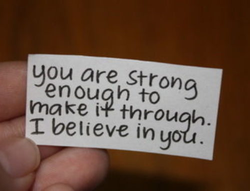 I Believe In You!